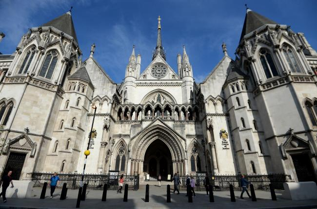 The Royal Courts of Justice in London where the appeal was heard