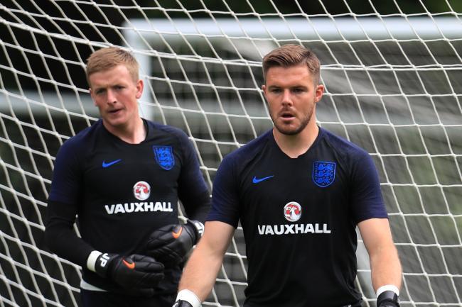0c0e235a2b5 David Seaman says England goalkeeper decision is too close to call. Jordan  Pickford