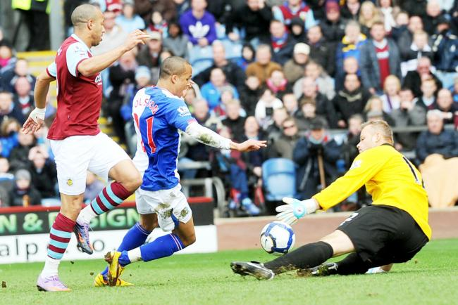 Martin Olsson won a controversial penalty from which David Dunn converted