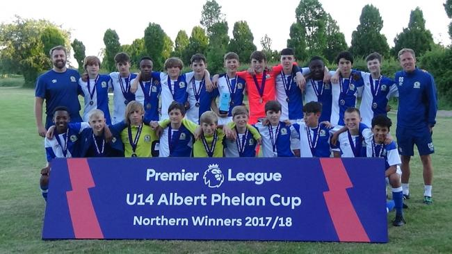 Rovers Under-14s have been crowned northern area champions