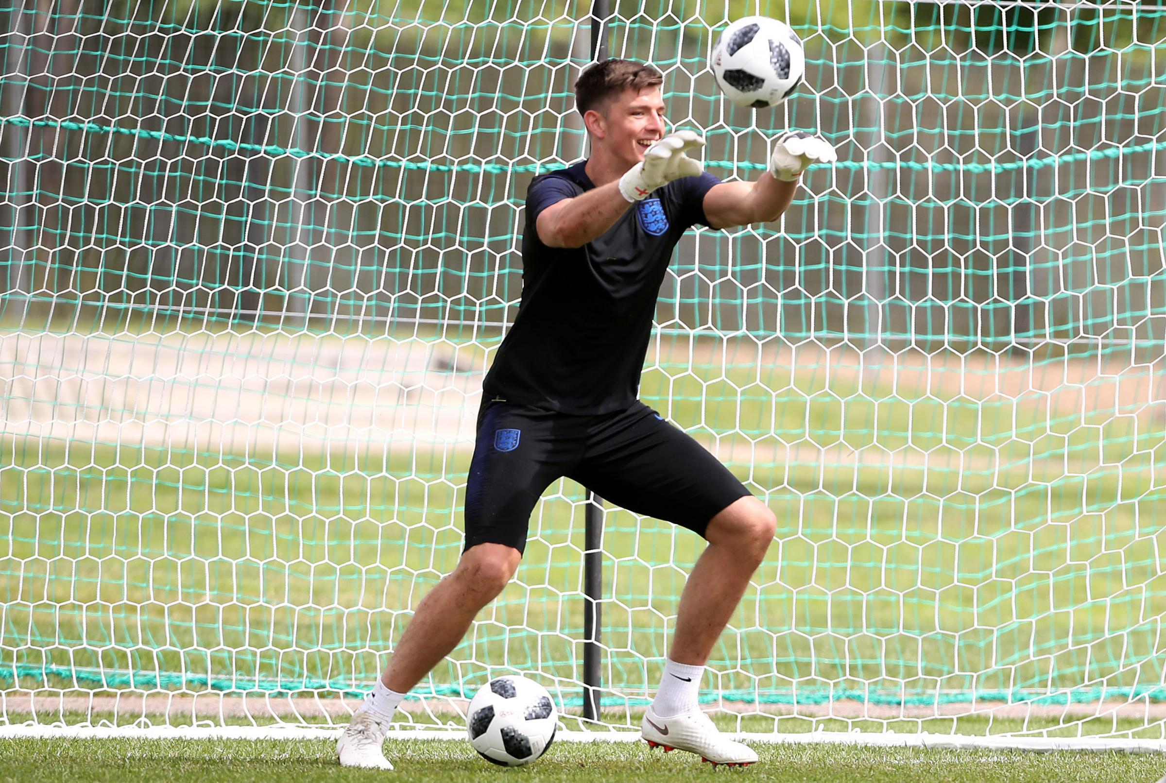 Nick Pope has been part of England's memorable World Cup run