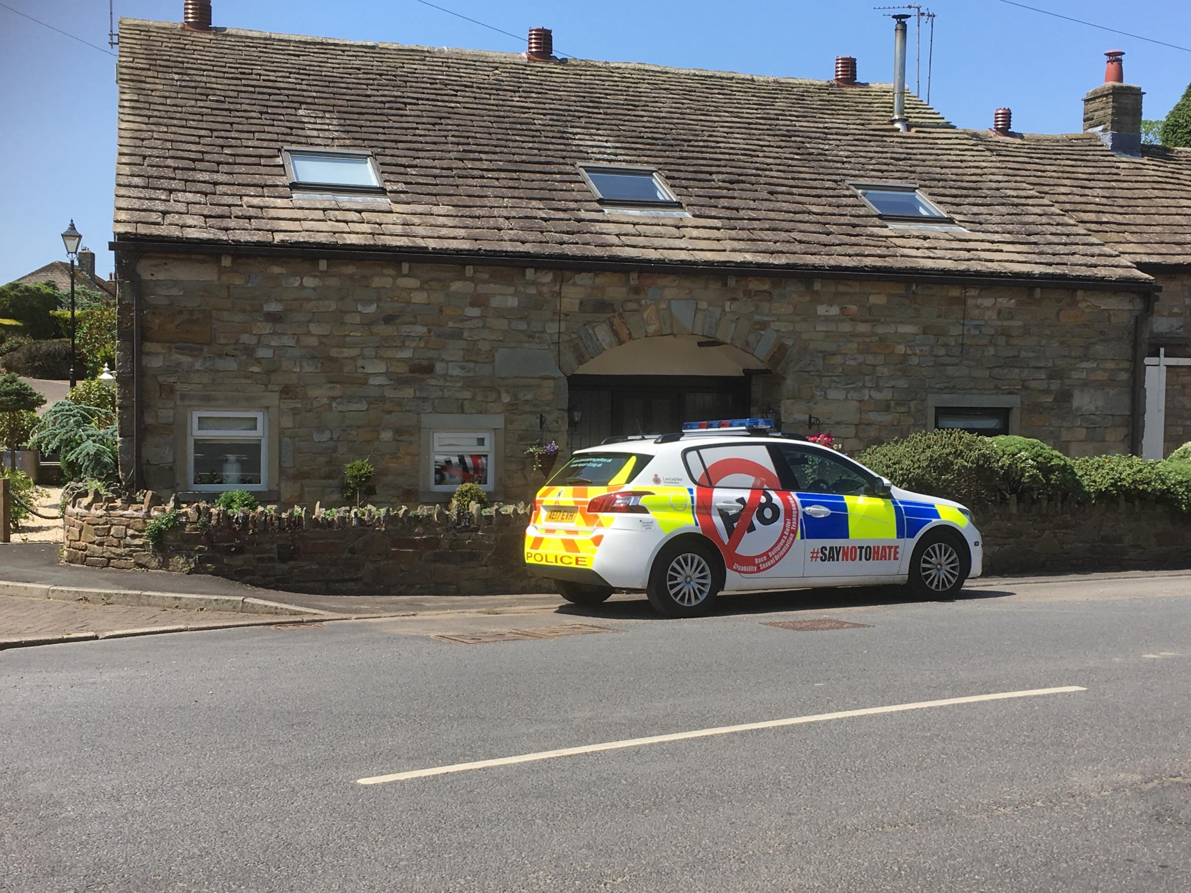 Emergency services were called to an address in Stoneycroft, Worsthorne, following reports a six-week-old baby had been found unconscious