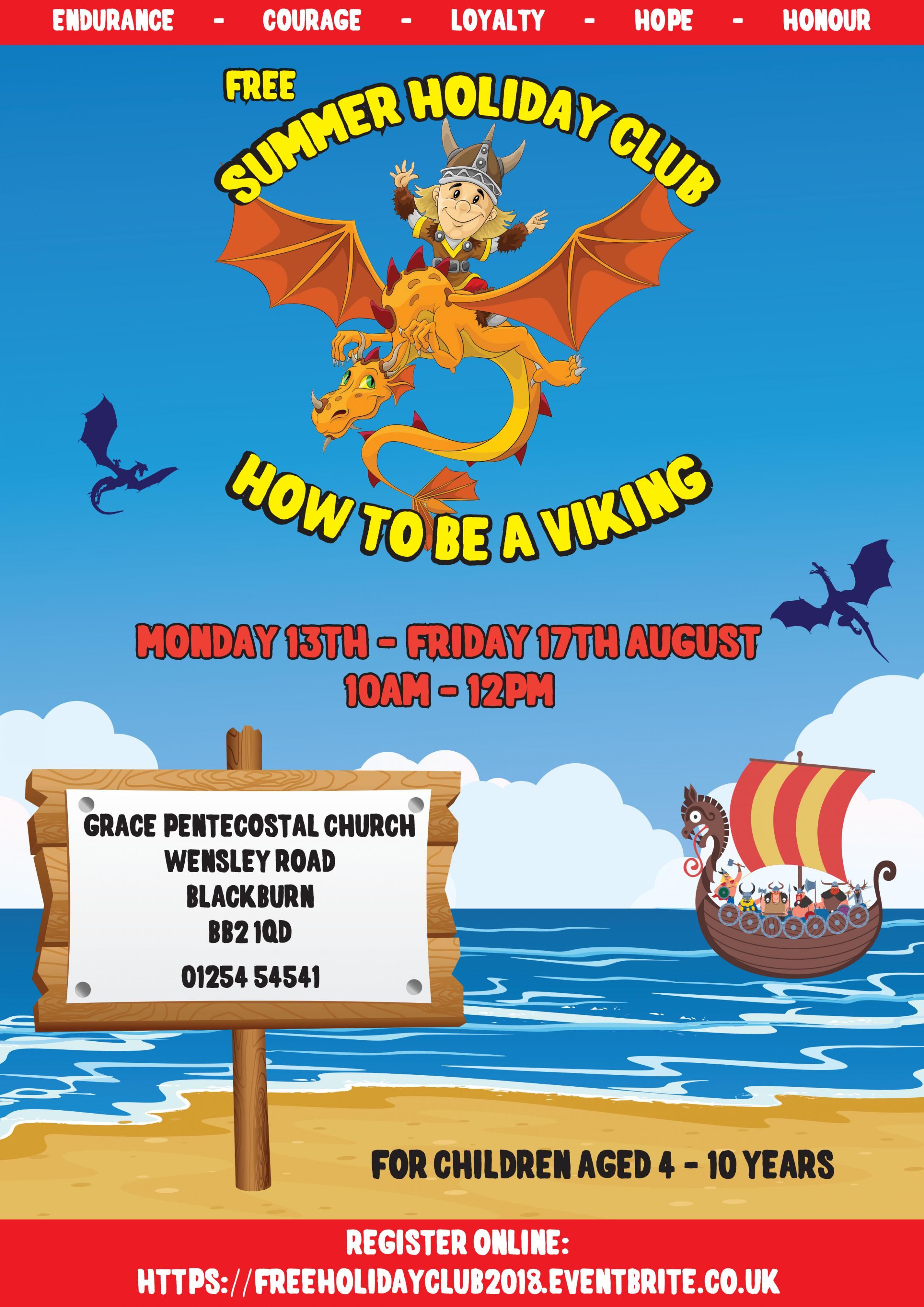 Summer Holiday Club: How To Be A Viking [FREE]