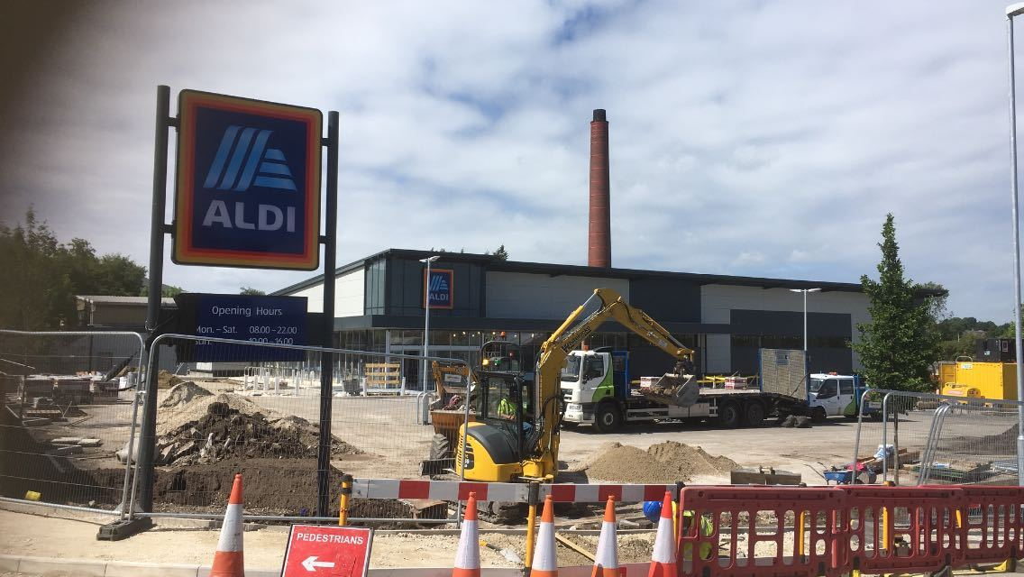 The new Aldi store in Barnoldswick