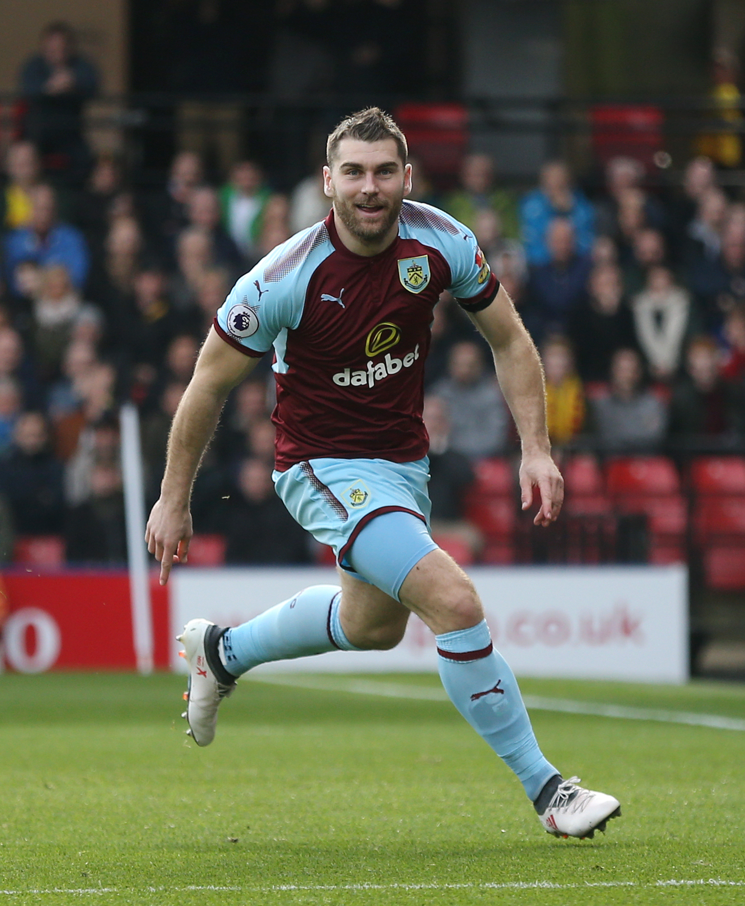 Sam Vokes and Burnley are back in pre-season ahead of the Europa League clash with Aberdeen