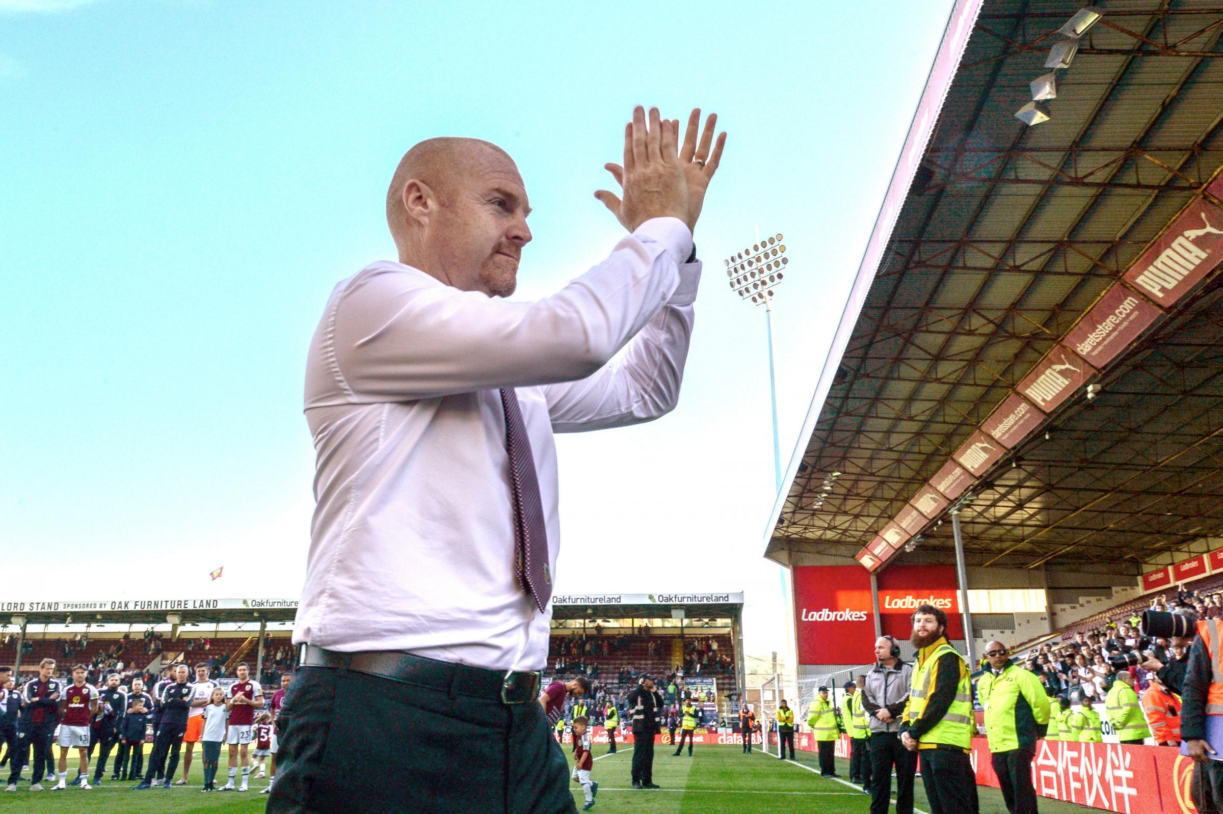 Sean Dyche has taken Burnley back into Europe for the first time in 51 years