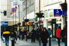 Blackburn Shopping Centre looking down King William Street in March 1999