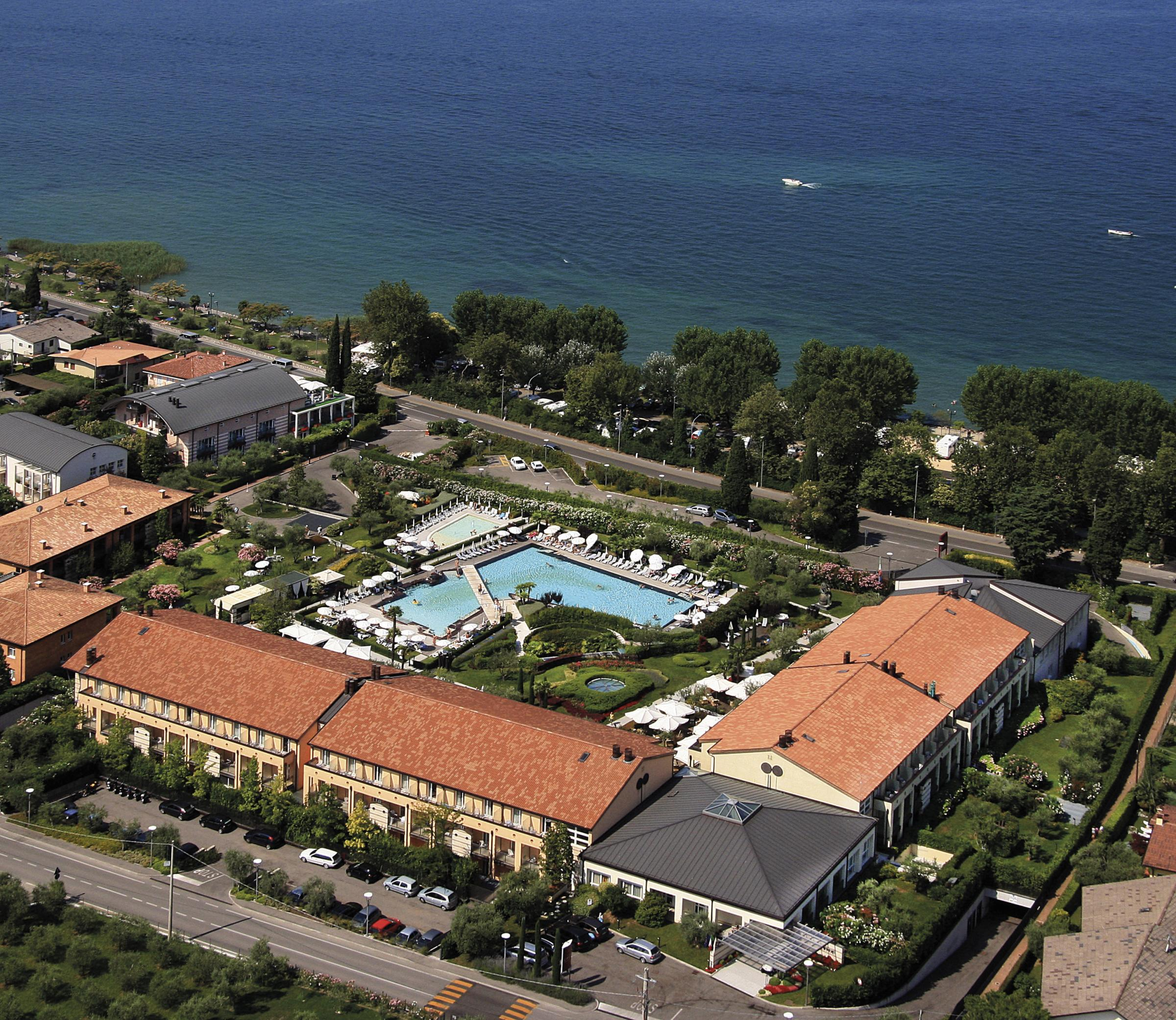 An aerial view of the Hotel Caesius Thermae & Spa Resort