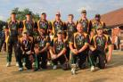 Chorley CC with their T20 trophy