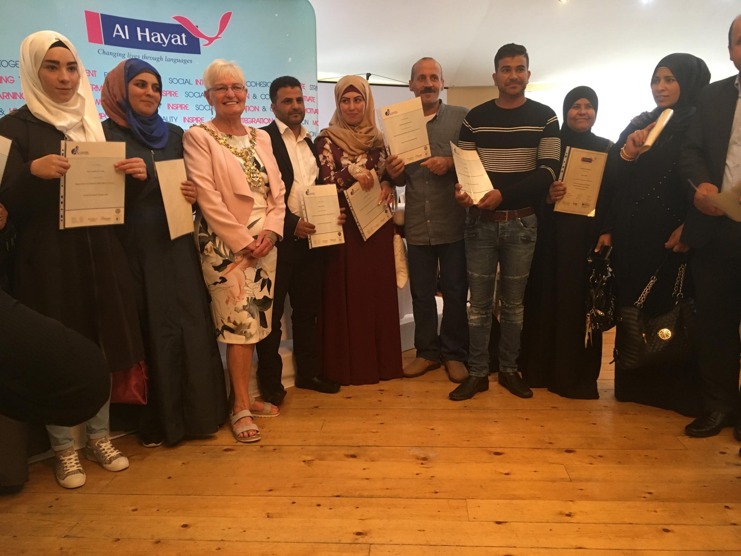 Al Hayat celebrating diversity and social integration