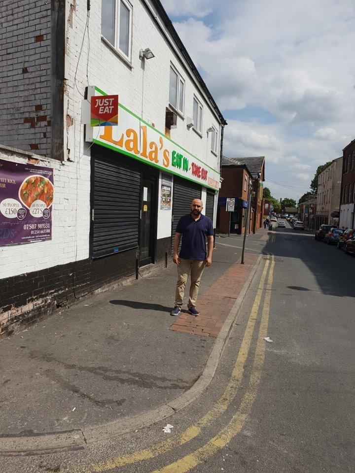 Blackburn Takeaway Owner Concerned Rubbish Is Hitting His
