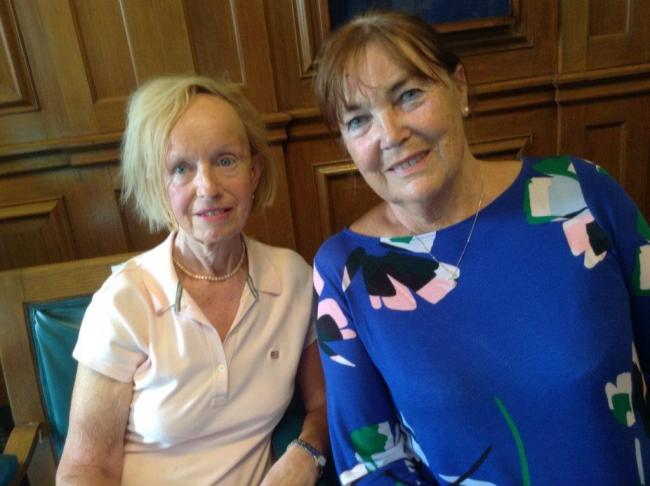 Collette Hunt and Yvonne Hindle