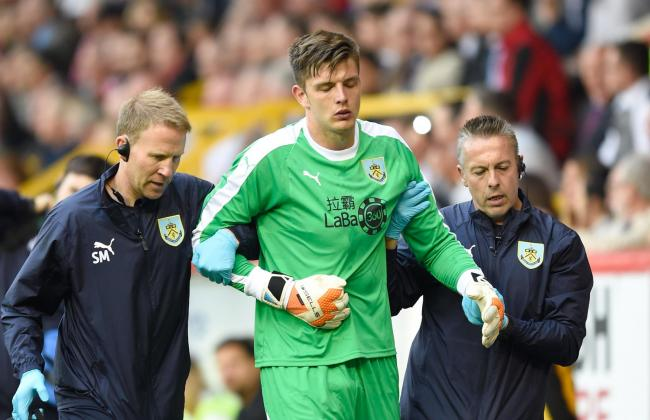 Nick Pope is back in light training as he recovers from a dislocated shoulder