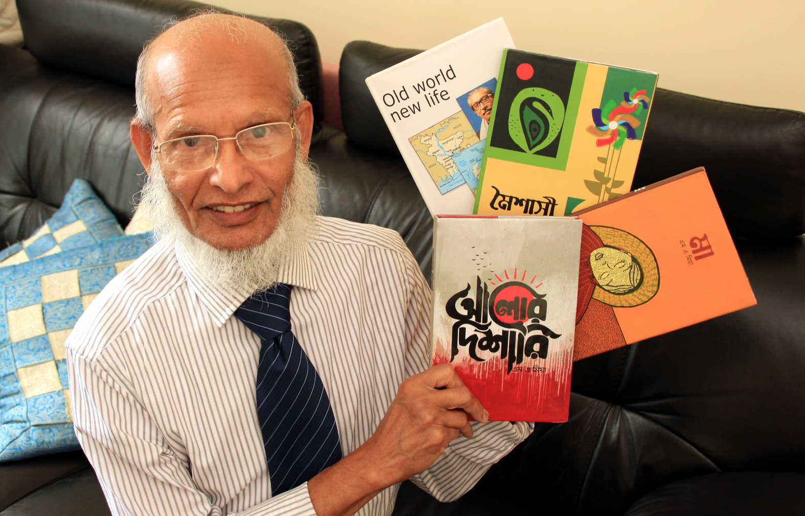 Bangladeshi-born author's work inspires people from former country