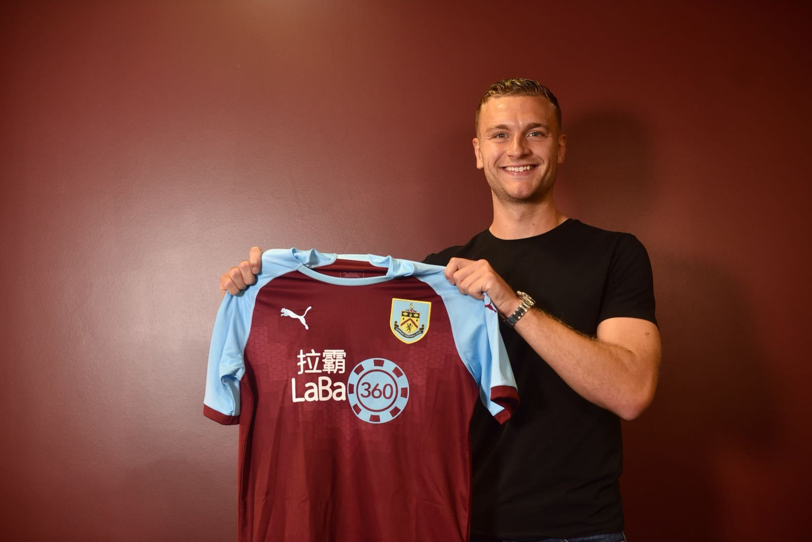 Ben Gibson has joined Burnley on a four-year deal
