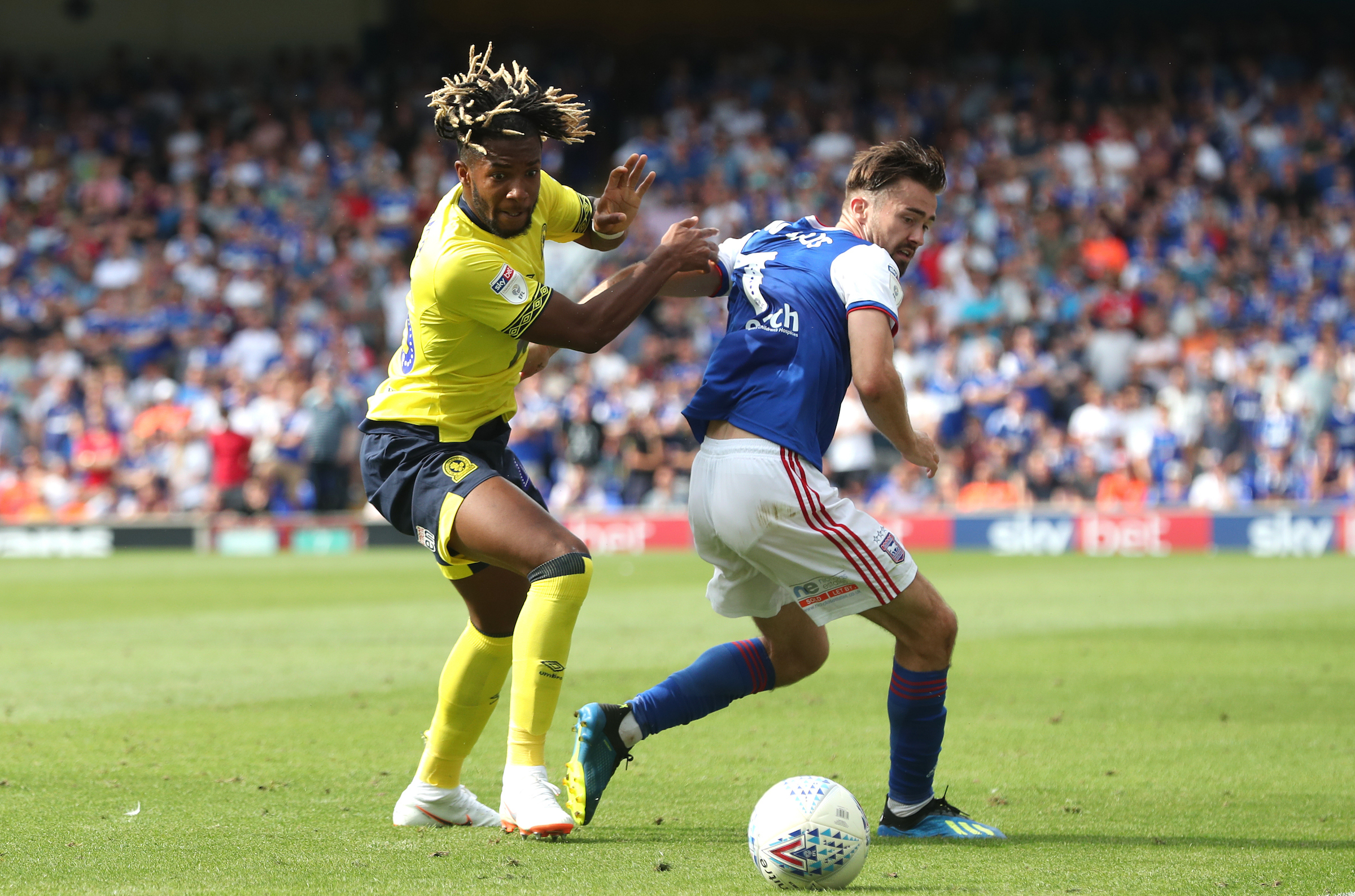 Kasey Palmer made his Rovers debut in the opening day draw at Ipswich Town