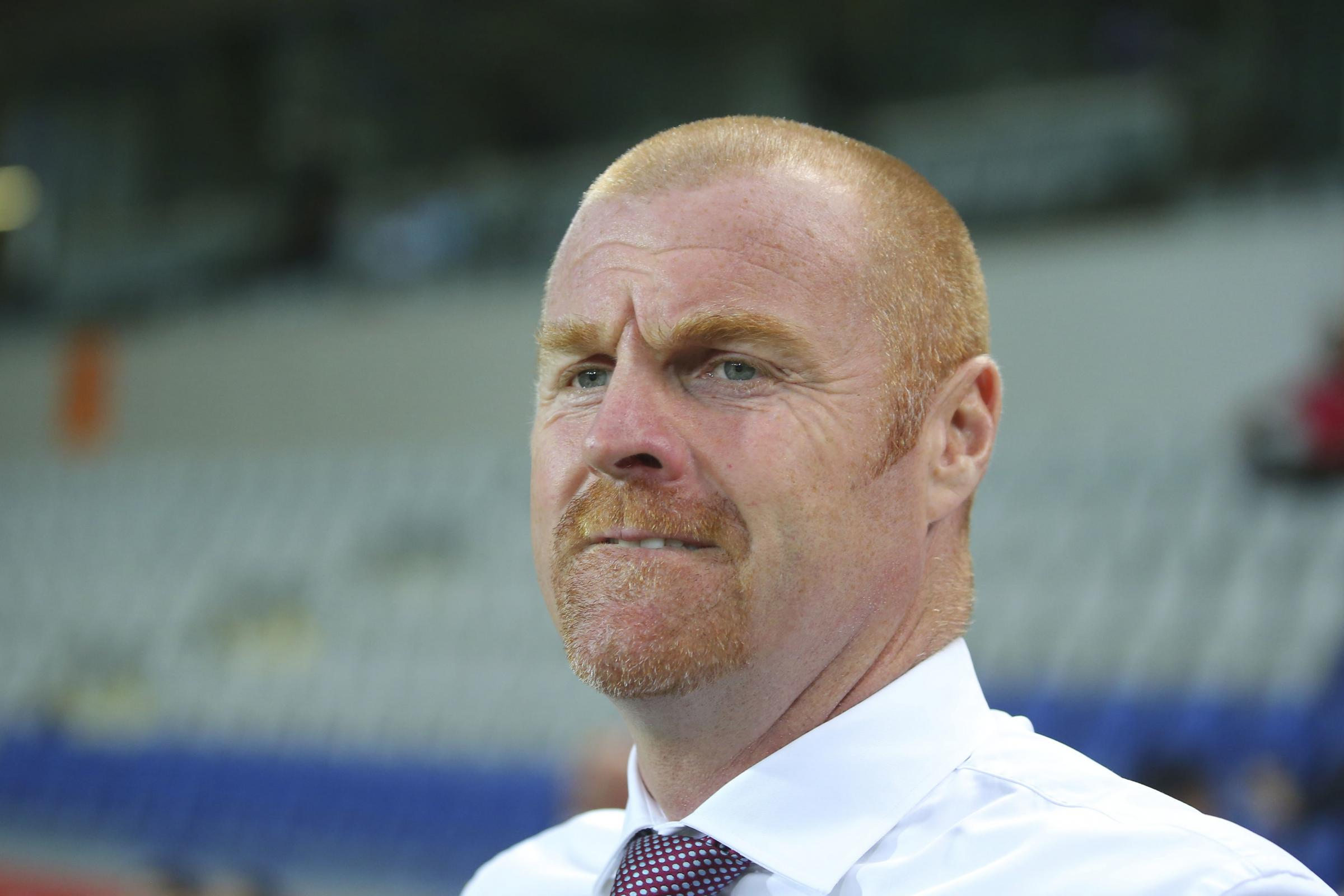 Sean Dyche said the summer transfer window had been the worst he'd ever experienced as a manager