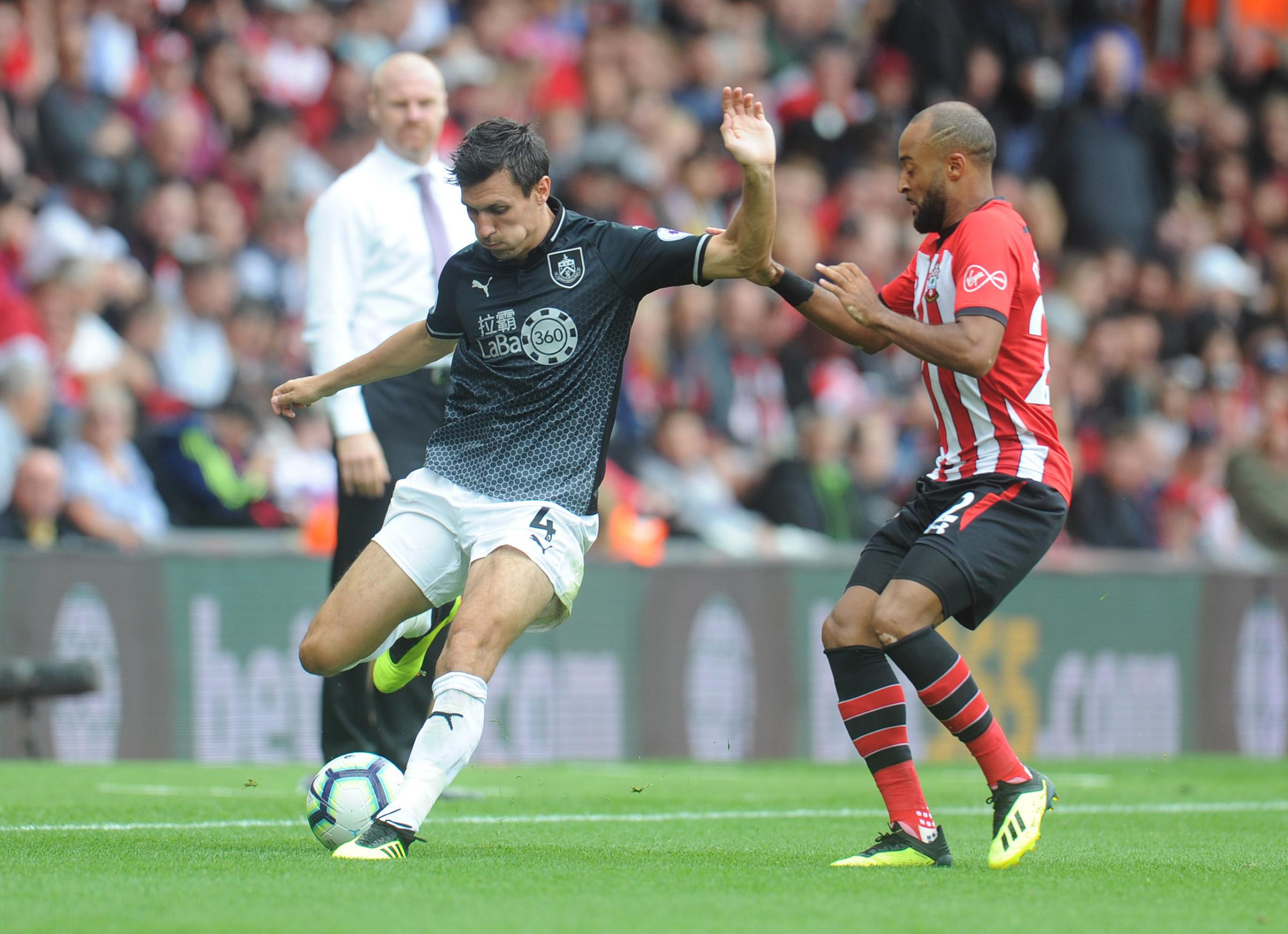 Jack Cork helped Burnley dominant for large periods of the game at Southampton