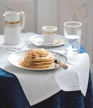 Lancashire Telegraph: Recipe: Blueberry pancakes stack