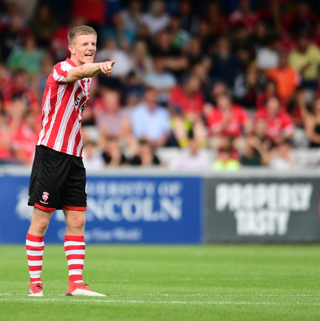 Scott Wharton is currently out on loan at League Two side Lincoln City