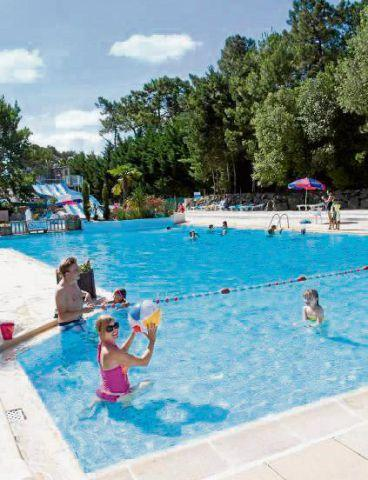 Lancashire Telegraph: SUMMER FUN The swimming pool at Siblu holiday parc Le Bois Dormant
