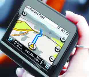 POINTING WAY: Drivers in Lancashire will be testing the new sat nav