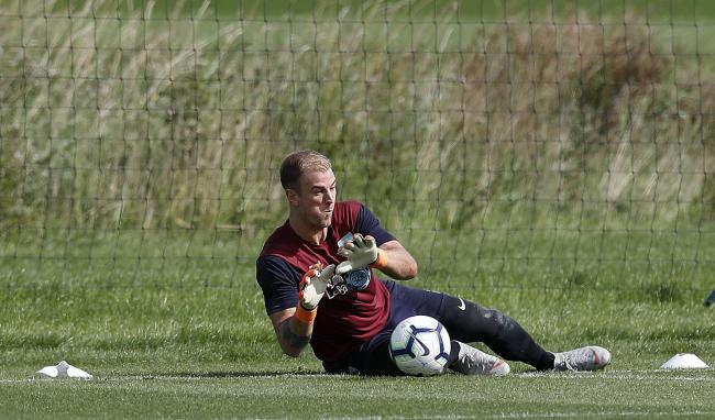 Burnley goalkeeper Joe Hart, during the training session at Barnfield Training Centre, Burnley. PRESS ASSOCIATION Photo. Picture date: Wednesday August 29, 2018. See PA story SOCCER Burnley. Photo credit should read: Martin Rickett/PA Wire