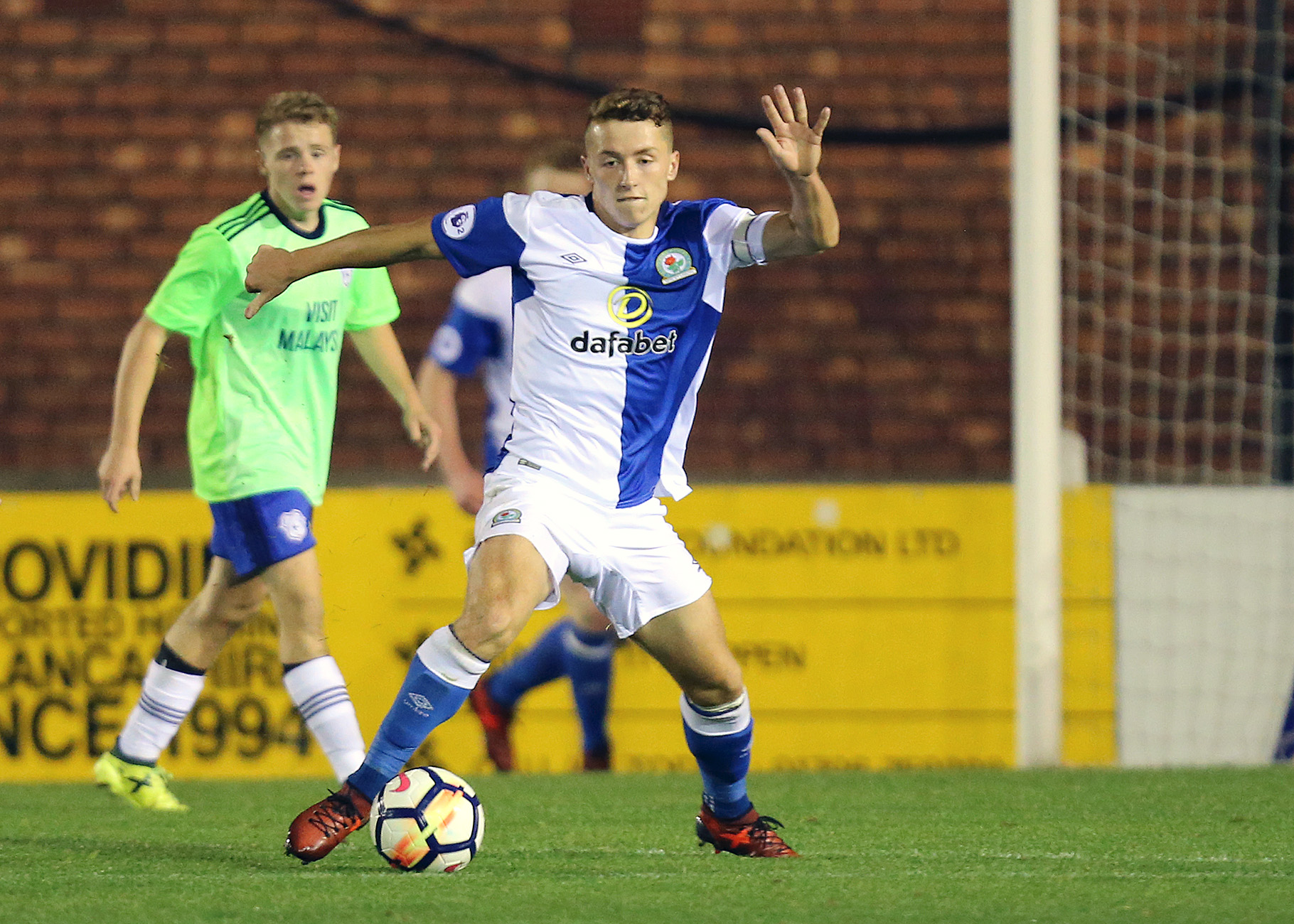 Lewis Hardcastle has been a regular for Rovers Under-23s in recent years