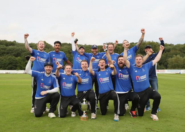 Burnley celebrate T20 glory