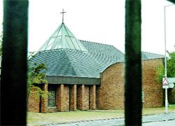 UNDER ATTACK: St Joseph's RC Church, Audley