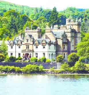 STUNNING: Cameron House, on Loch Lomond
