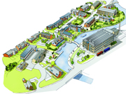 NEW LOOK: An artist's impression of how the Finsley Gate area would look after the �10million project  is completed