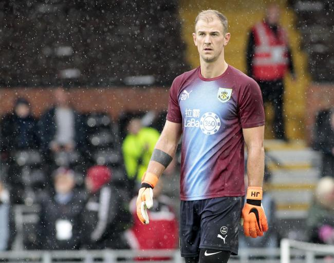 Joe Hart returns to Manchester City this weekend - but Sean Dyche says he has nothing to prove