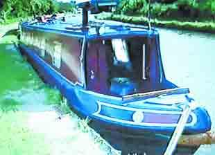 STOLEN: The 50ft Rebecca Kathleen which was taken from Botany Bay marina on the Leeds and Liverpool canal