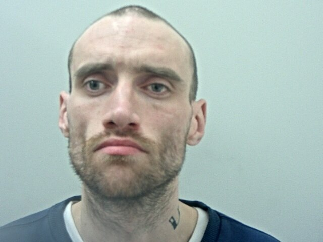 Liam Taggart, 32, has been missing for eight days. He is believed to be in Burnley or Padiham.