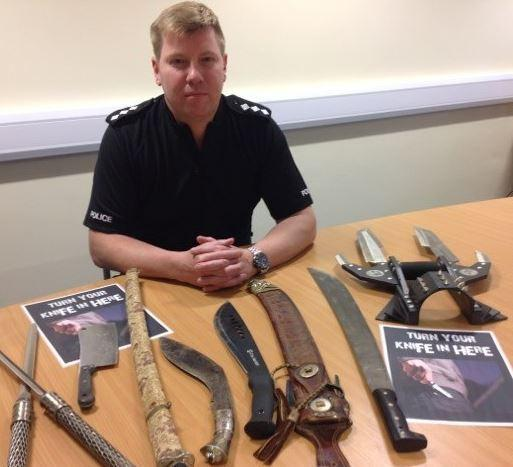 Lancashire Police are launching their second knife surrender of the year.