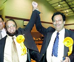 JAILED: Shamed Burnley Lib Dem councillors Manzur Hussain and Mozaquir Ali