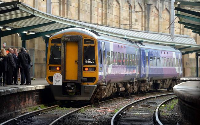 Northern Rail passengers can claim compensation if their train is 15 minutes late