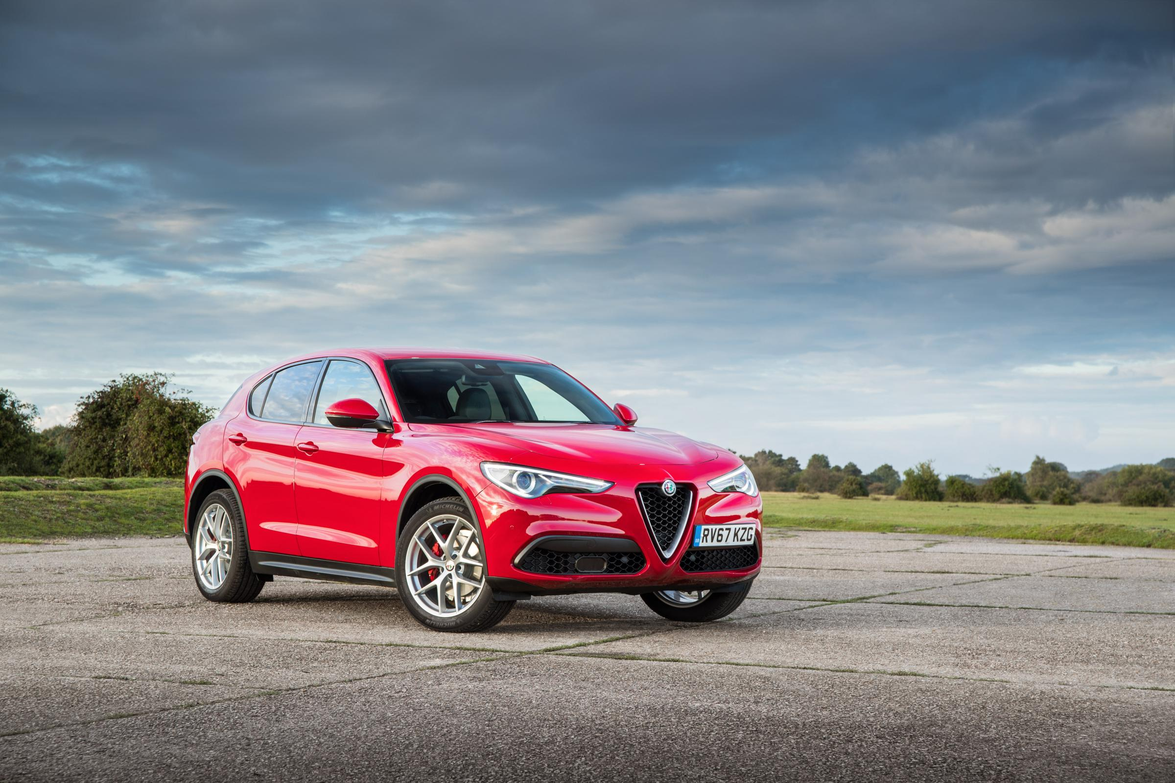 The Alfa Romeo Stelvio is the marque's first SUV