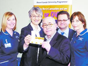 STREETS AHEAD: Malcolm Hebden, centre, with, from left, Effy Smith, Judith Salaman, Mark Hendrickse and Louise Newton