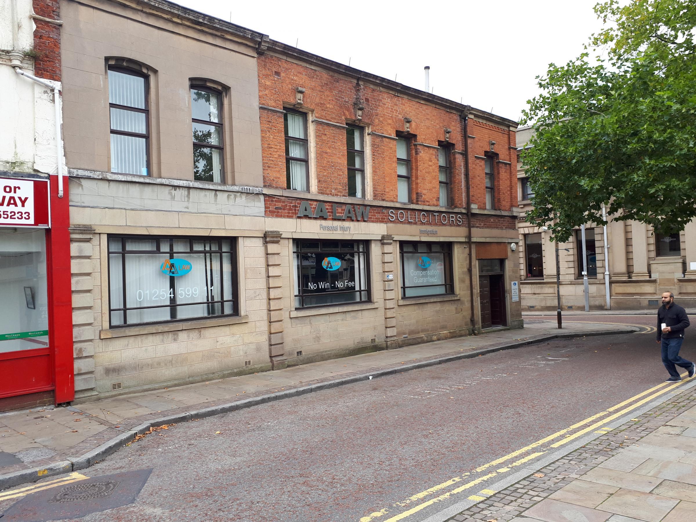 AA Law in Corporation Street, Blackburn