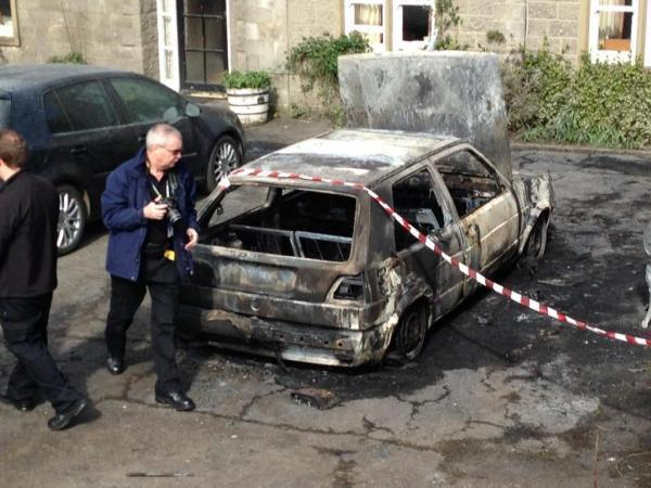 FLASHBACK: The arson attack on the Gisburne Park Estate stables in April 2015