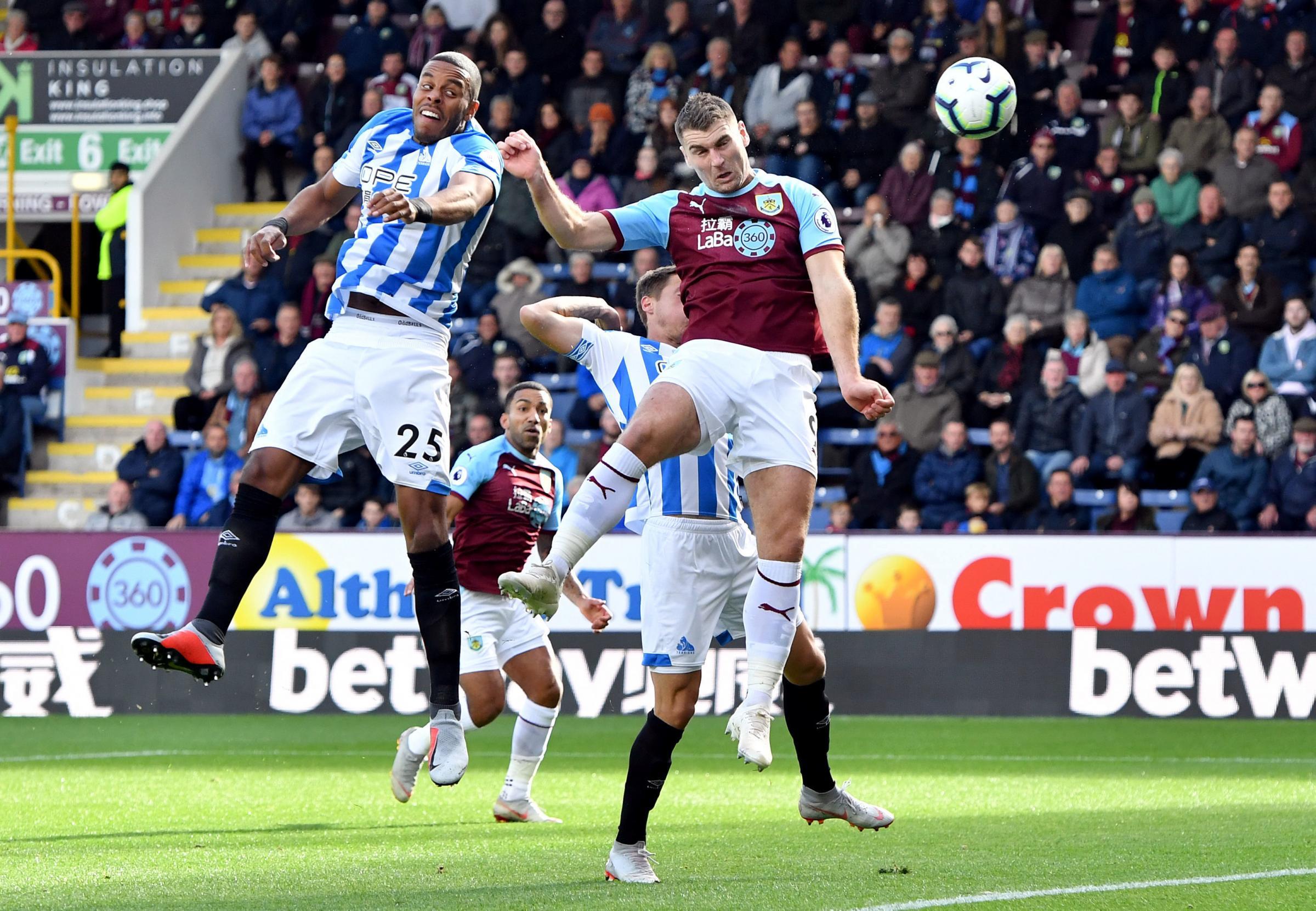 Burnley 1 Huddersfield Town 1 Match report