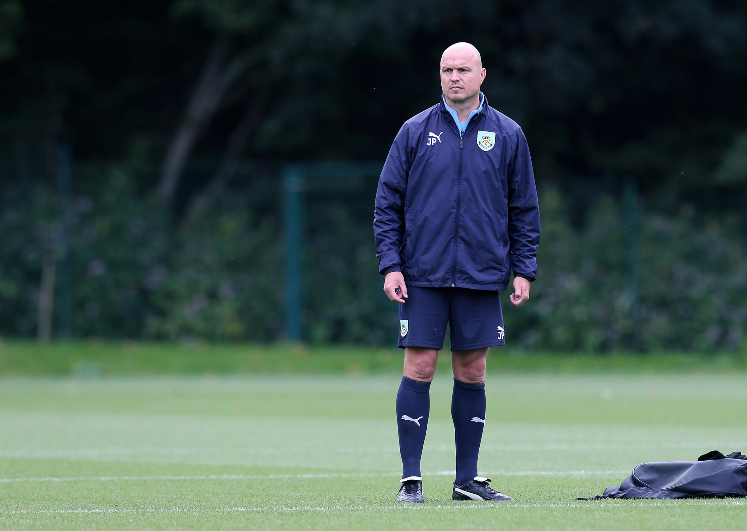 Jonathan Pepper is taking temporary charge of Burnley Under-23s