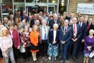 Pendleside Hospice celebrate 30th anniversary last Friday (October 5) and special guests include the Mayor and Mayoress of Pendle James and Janet Starkie and Mayor of Burnley Charlie Briggs