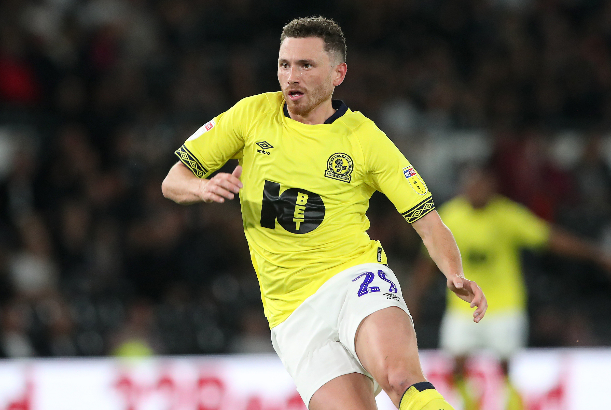 Rovers midfielder Corry Evans has featured in all 12 Championship matches so far