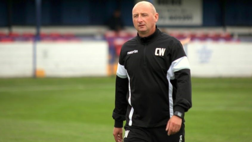 Rams boss Chris Willcock saw his side beat Trafford in the FA Trophy