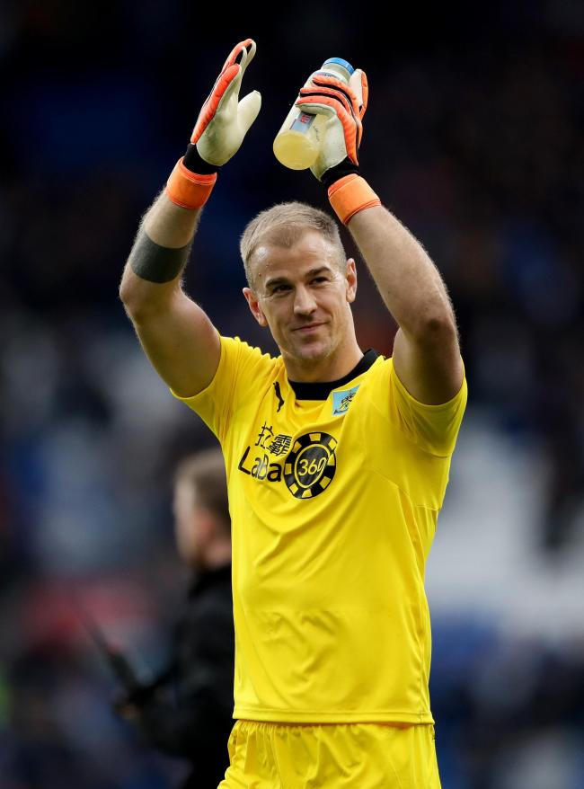 Joe Hart is set for a return to Manchester City today