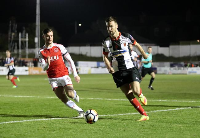 Chorley were beaten 2-1 by Fleetwood in the FA Cup first round last season