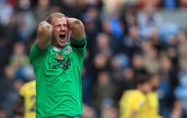 Joe Hart made a number of fine saves in Burnley's 4-0 defeat to Chelsea